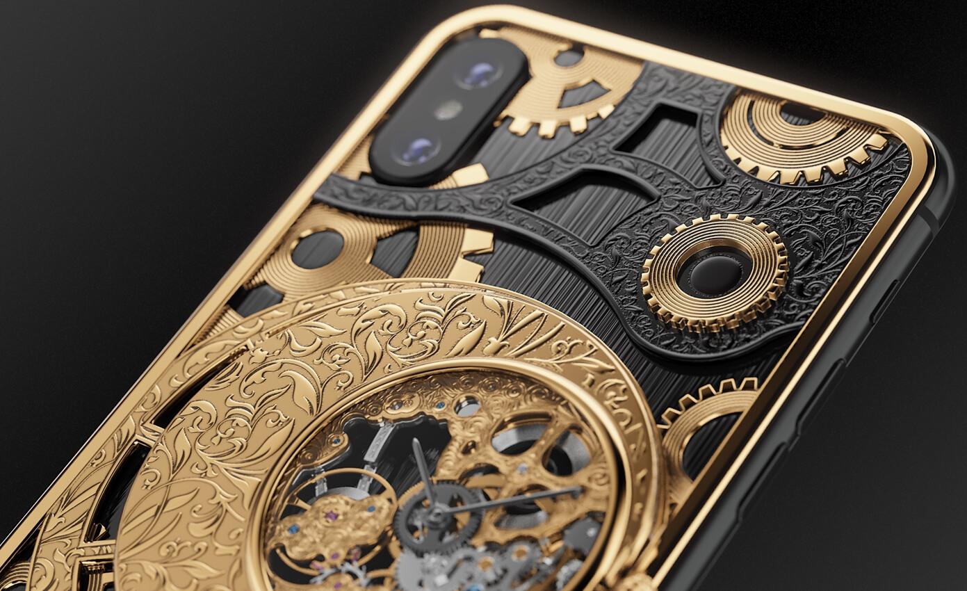 Smartfon Z Zegarkiem Mechanicznym Caviar Grand