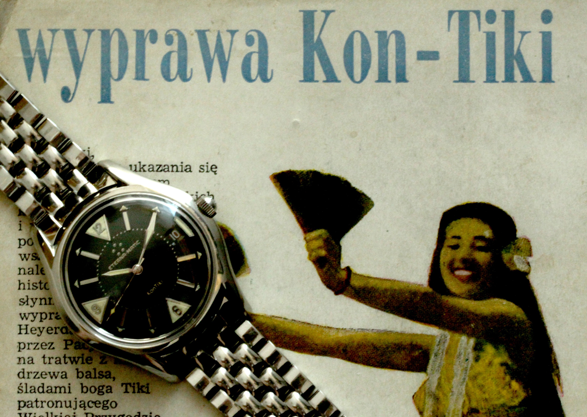 wyprawa KonTiki, zegarek KonTiki