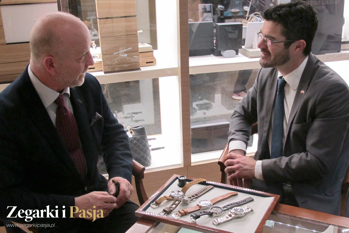 Swiss watches in Poland. Interview with Benjaminem Schwaegli – Head of Swiss Business Hub Poland in Warsaw