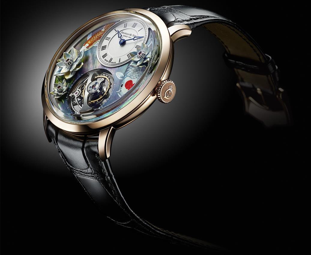 ARNOLD & SON Ultrathin Tourbillon Koi