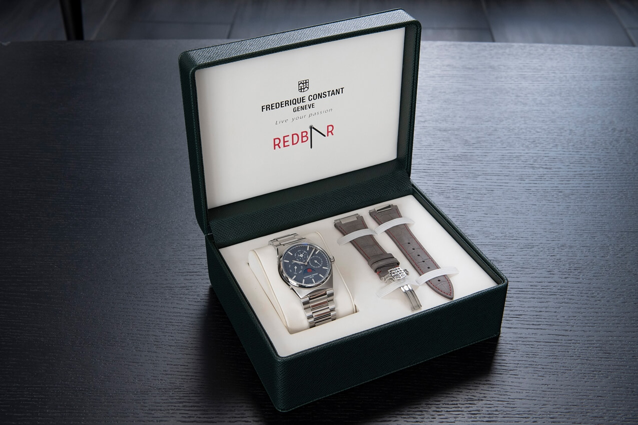 FREDERIQUE CONSTANT Highlife Redbar Limited Editions 2020