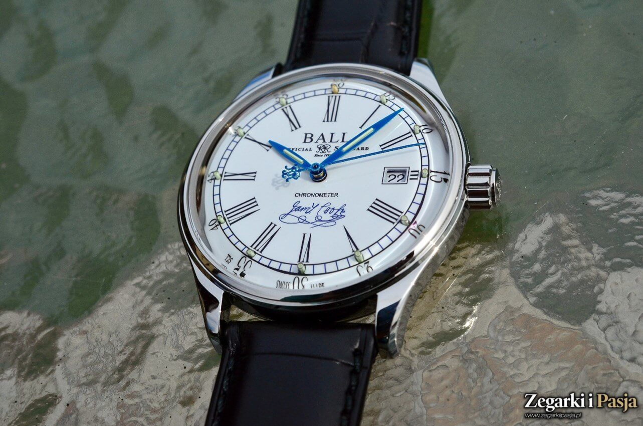 Recenzja: BALL Trainmaster Endeavour Chronometer Limited Edition