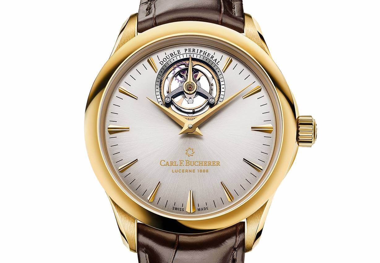 Carl F. Bucherer - Manero Tourbillon Double Peripheral Trilogy