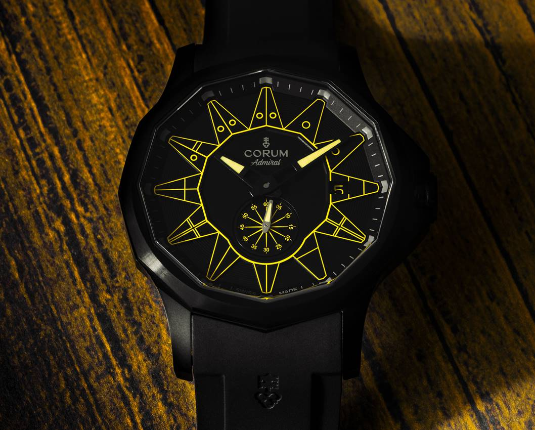 CORUM Admiral 42 Automatic All Black Limited Edition
