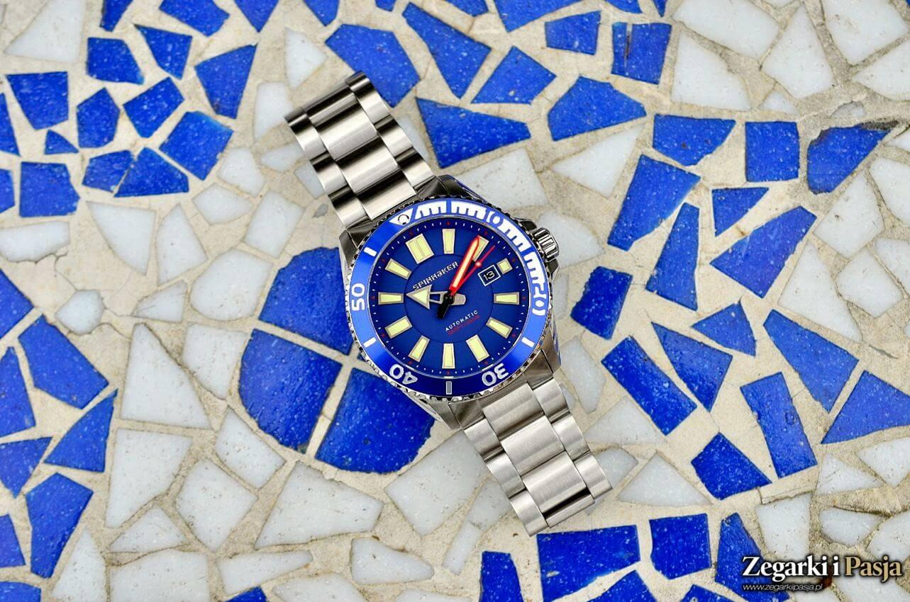 Recenzja: Spinnaker Amalfi Diver Automatic