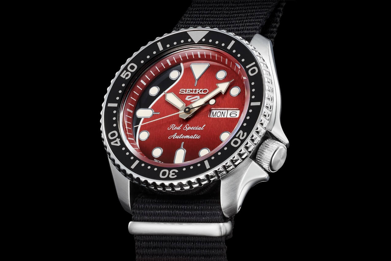 "SEIKO 5 Sports Brian May ""Red Special"" Limited Edition"