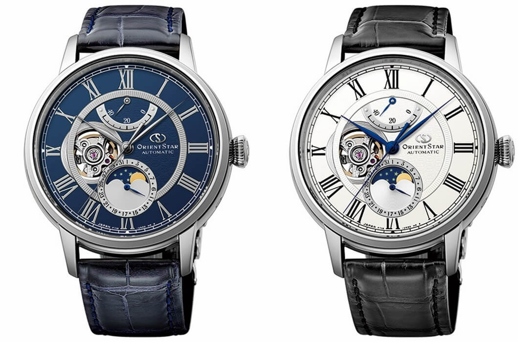 ORIENT STAR Classic Open Heart Moonphase Power Reserve Automatic