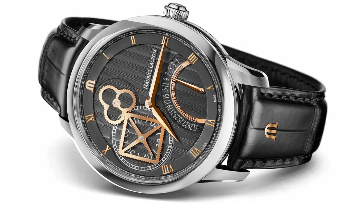 Maurice Lacroix - Masterpiece Square Wheel Retrograde