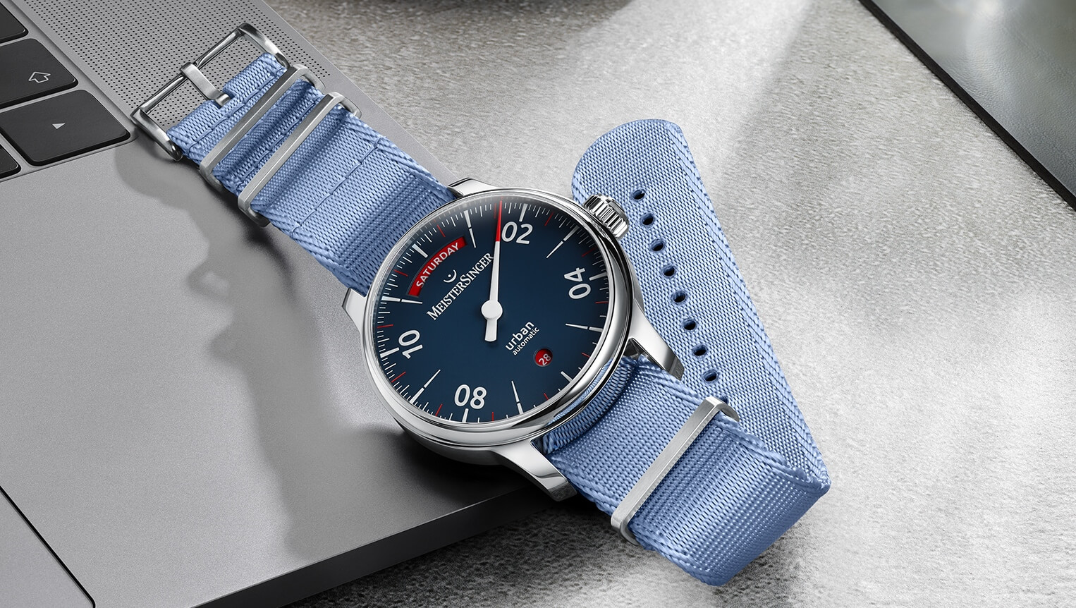 MeisterSinger Urban Day Date Automatic