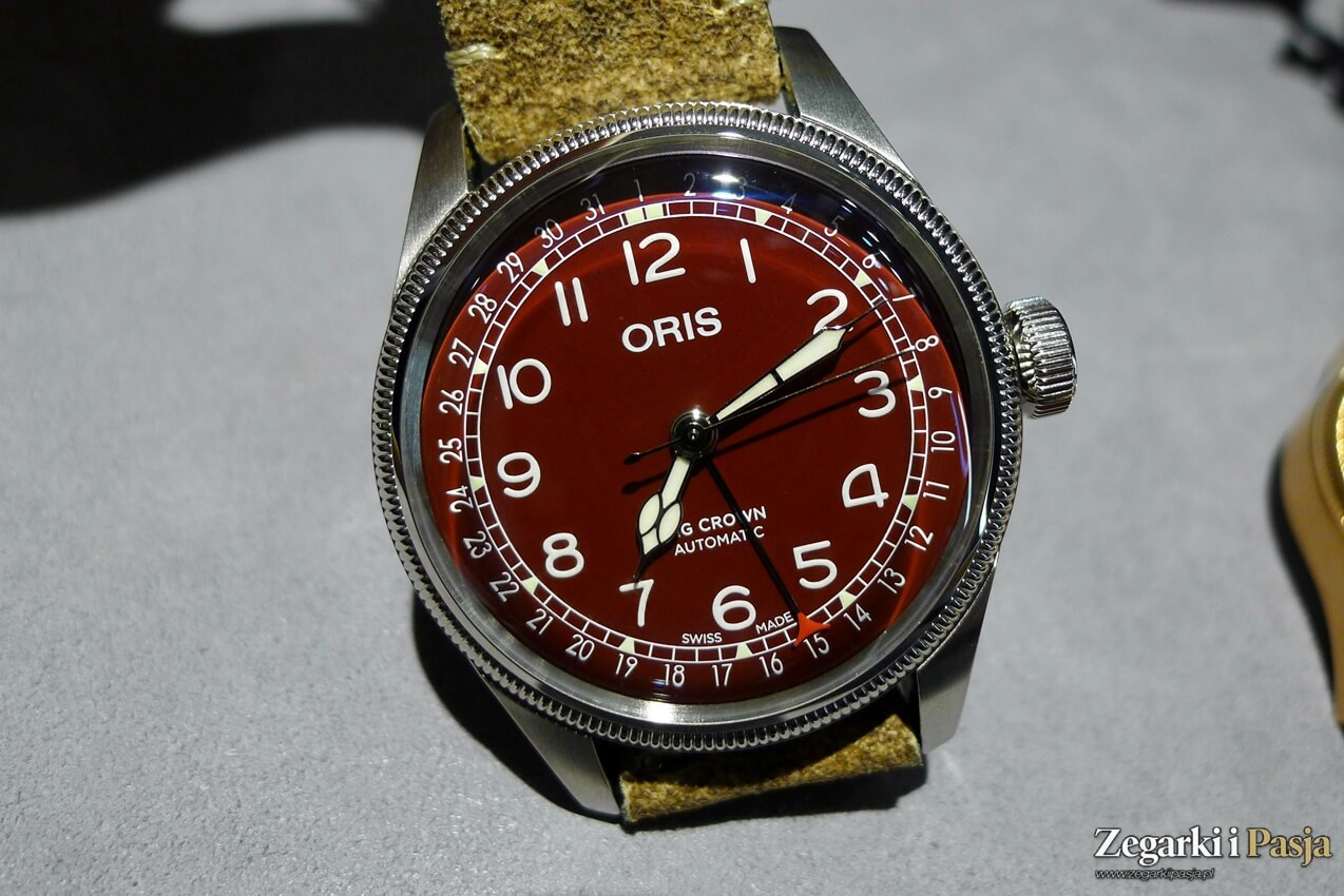 ORIS Big Crown Pointer Date – Blue, Red i Anniversary Edition