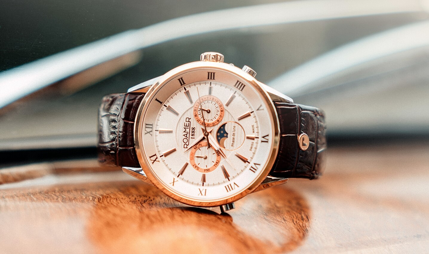 ROAMER Superior Moonphase i Business Multifunction – w rytmie faz Księżyca