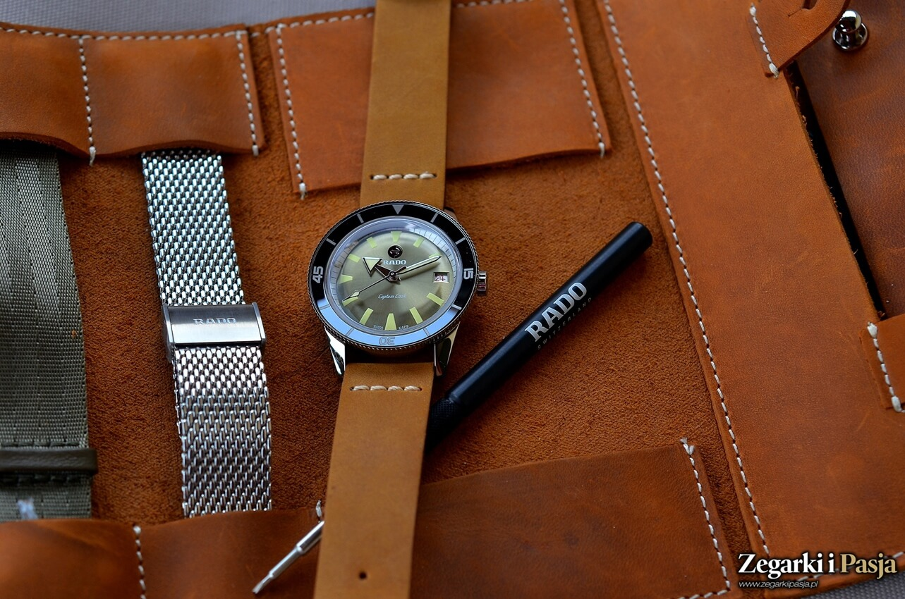 Recenzja: RADO Tradition Captain Cook Automatic Limited Edition