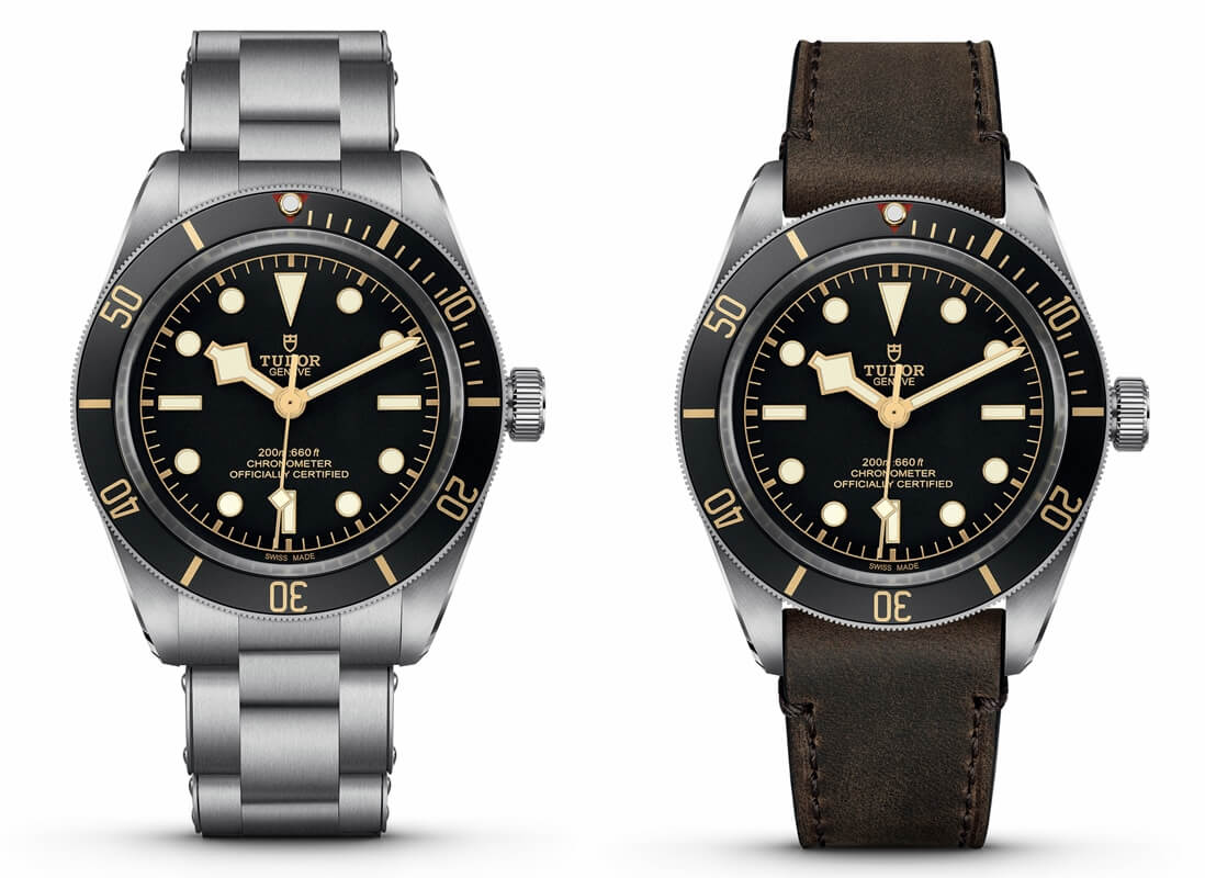 TUDOR Black Bay – modele Fifty-Eight, Black Bay S&G oraz 1926