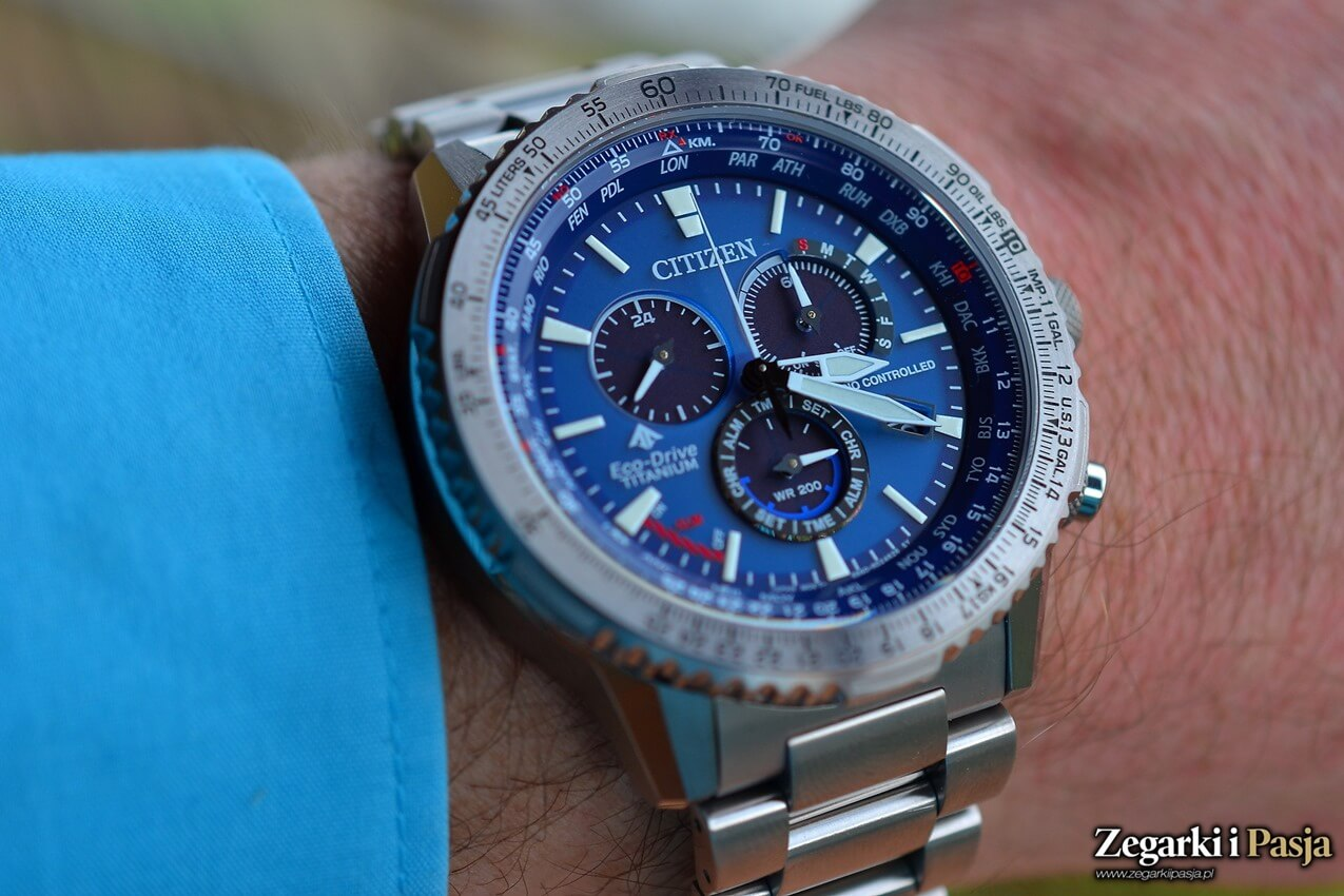 Testujemy: CITIZEN Promaster Sky Eco-Drive Radio Controlled Super TitaniumTM
