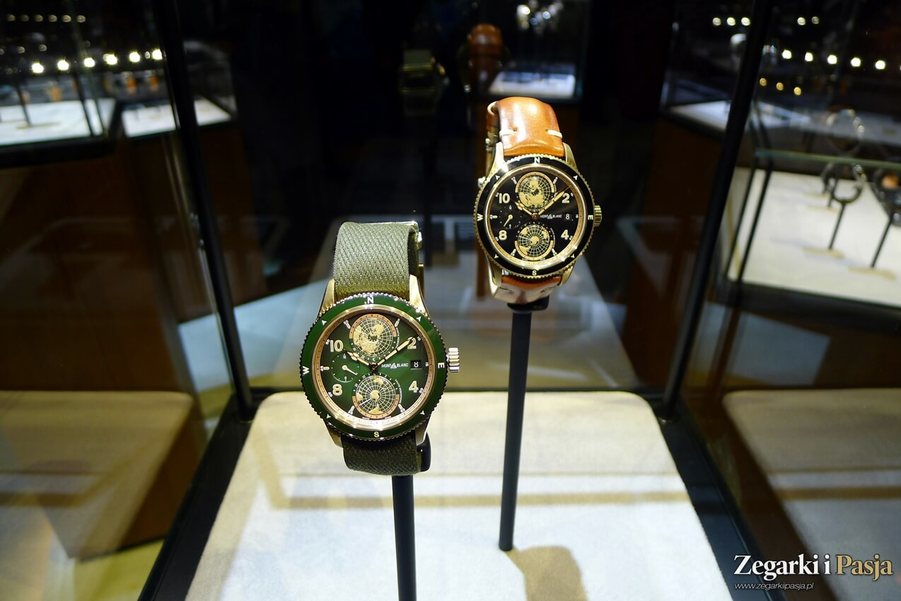 Montblanc 1858 Geosphere Limited Edition (SIHH 2019, zdjęcia live)