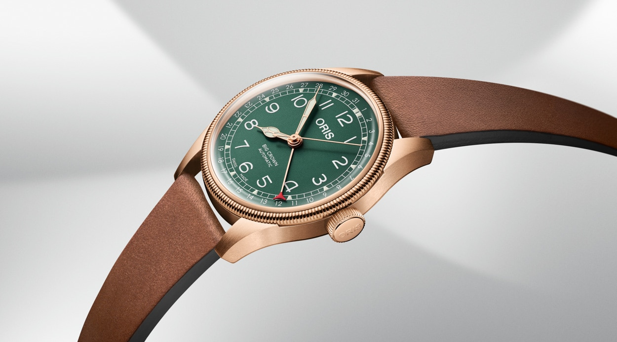 ORIS Big Crown Pointer Date Bronze 80th Anniversary Edition