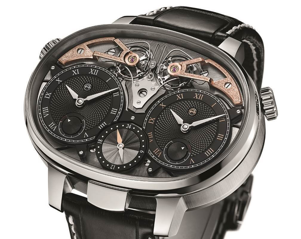 Armin Strom – Dual Time Resonance Masterpiece Rose and White Gold (SIHH 2019)
