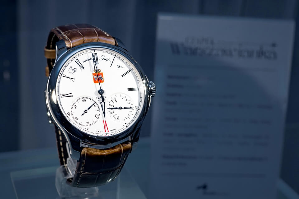 "Czapek Geneve: Quai Des Bergues ""100th Anniversary - Tribute to Poland"""