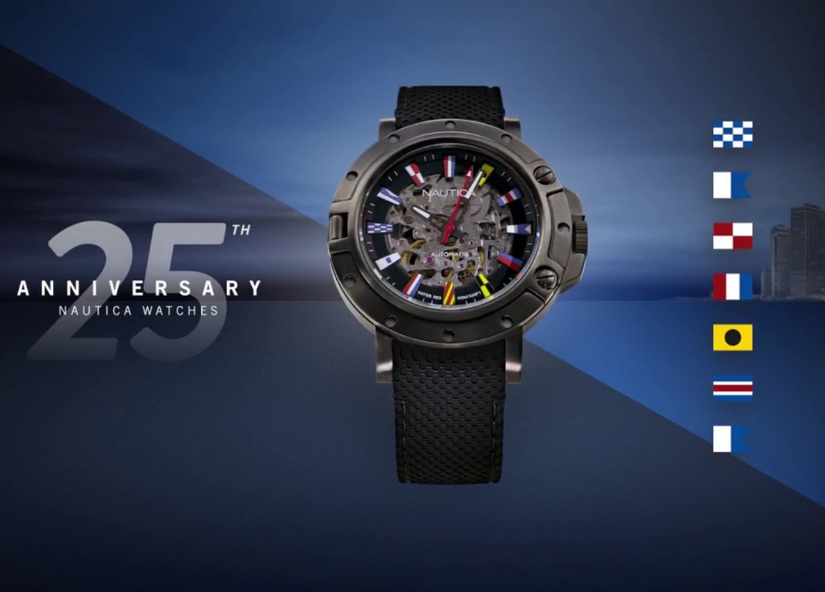 Nautica – Porthole Automatic 25th Anniversary Limited Edition