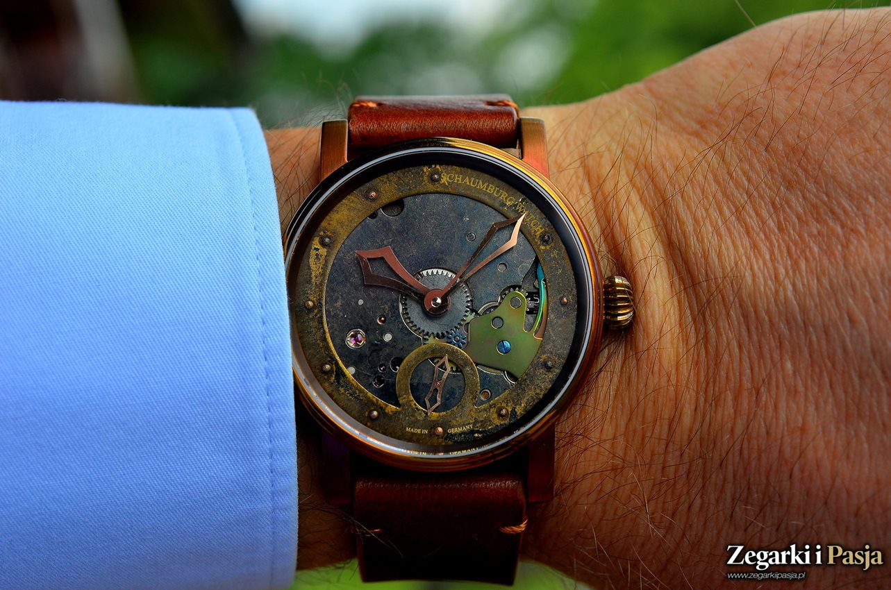 Recenzja: Schaumburg Watches - Hand Made Unikatorium Steampunk