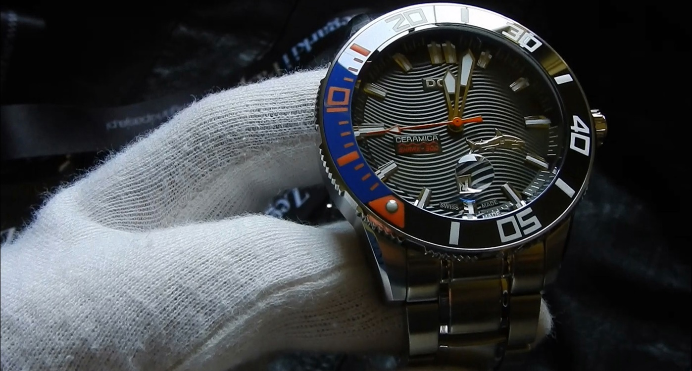 Video recenzja: DOXA Shark 300L Ceramica Automatic