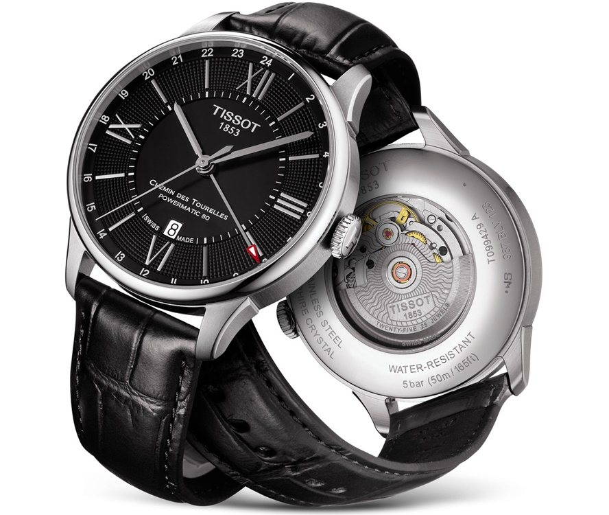 TISSOT Chemin des Tourelles Powermatic 80 GMT