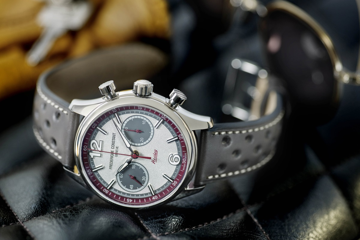 Frederique Constant i nowy Vintage Rally Healey Chronograph