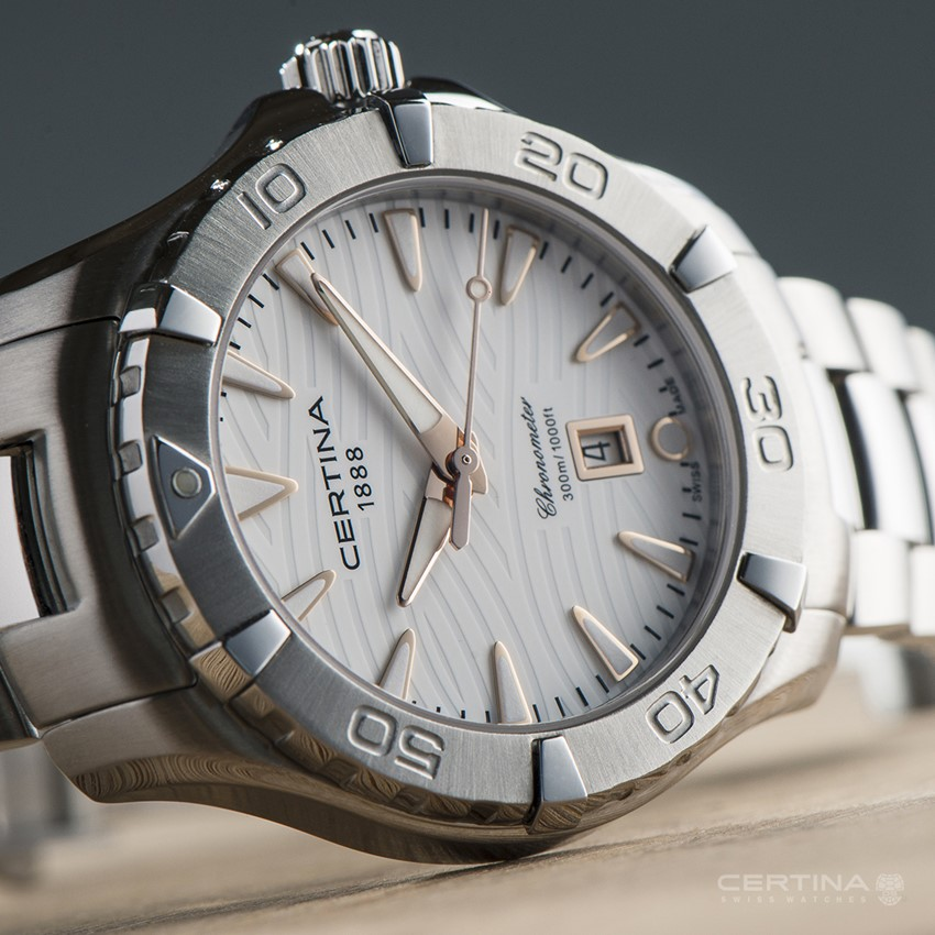 CERTINA DS Action Lady 300M Chronometer - sportowy i kobiecy