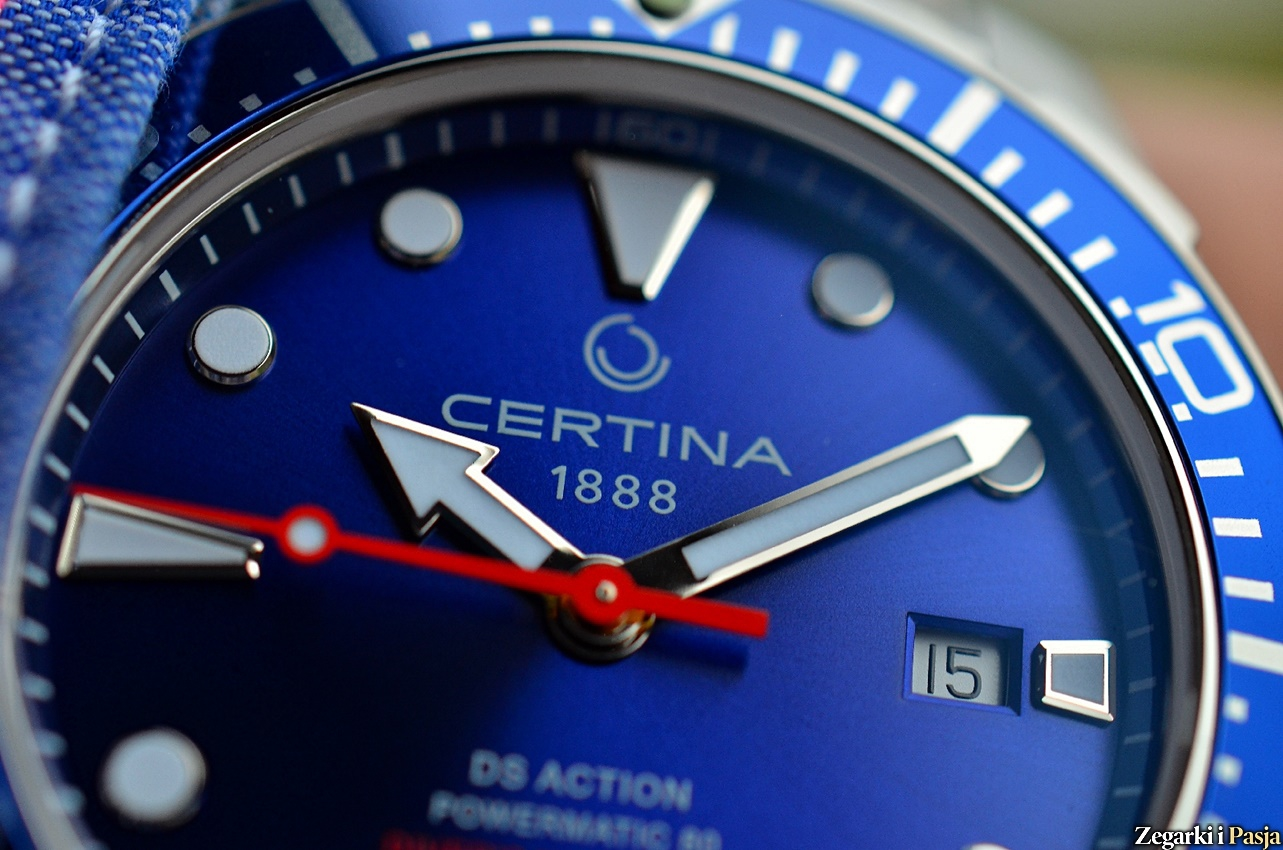 CERTINA DS Action Diver's Watch Powermatic 80