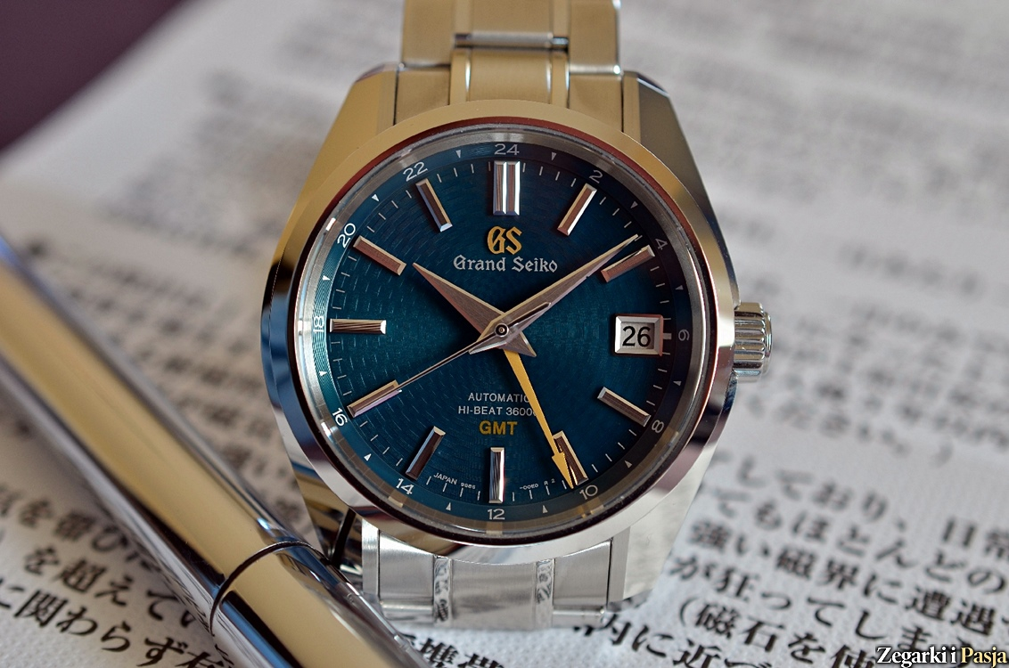 "Recenzja: The Grand Seiko Hi-Beat 36000 GMT Limited Edition ""Peacock"""