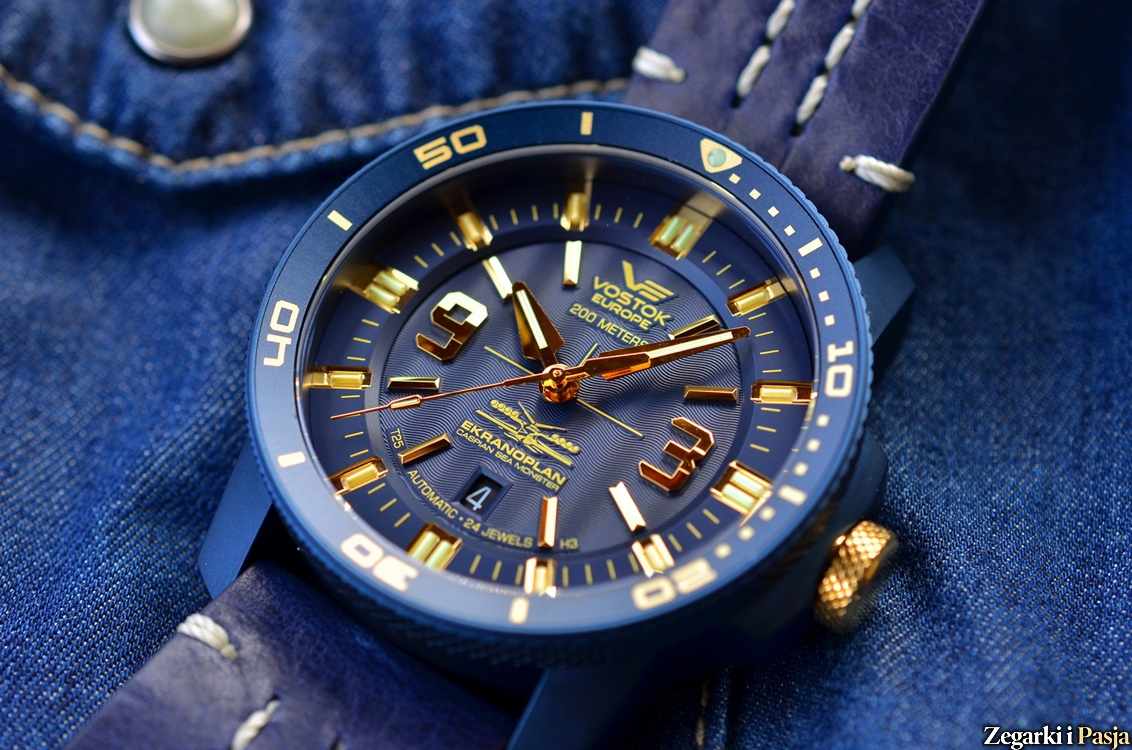 "Recenzja: Vostok Europe Ekranoplan ""Caspian Sea Monster"" Diver Automatic"