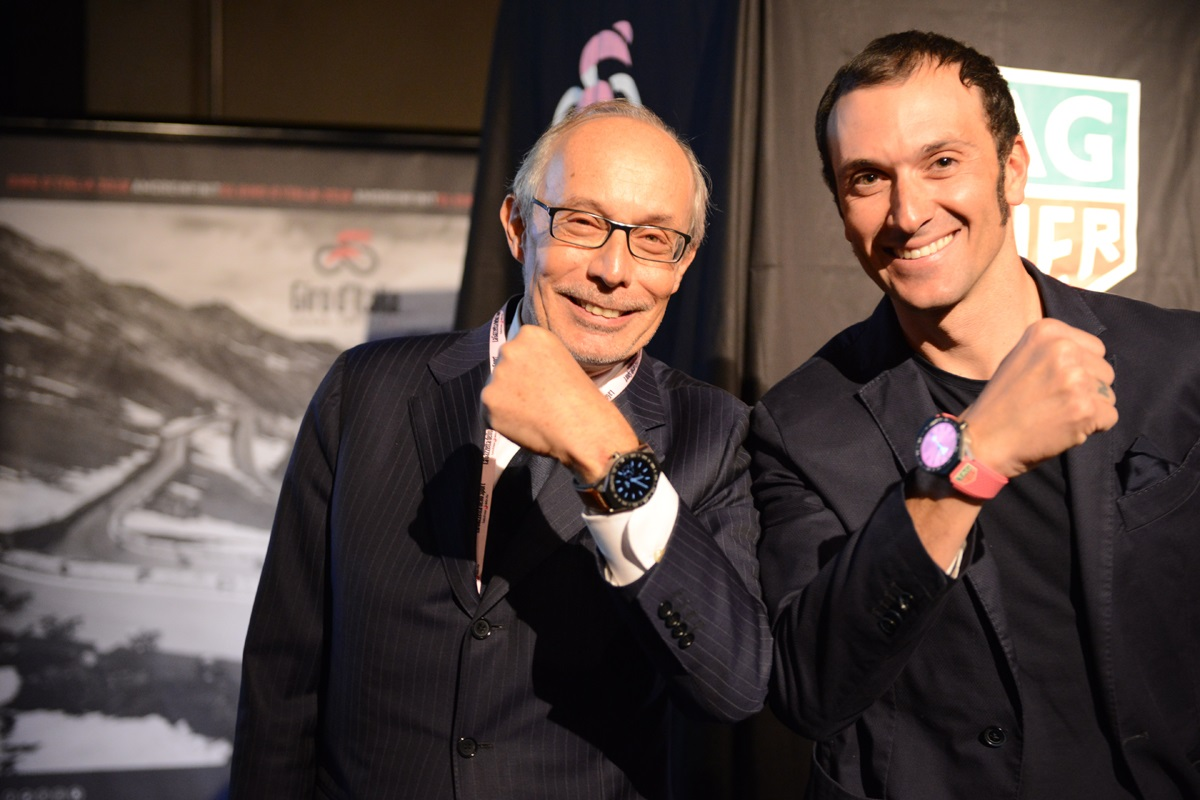 TAG Heuer i specjalny model Connected Modular 45 na Giro d'Italia 2018