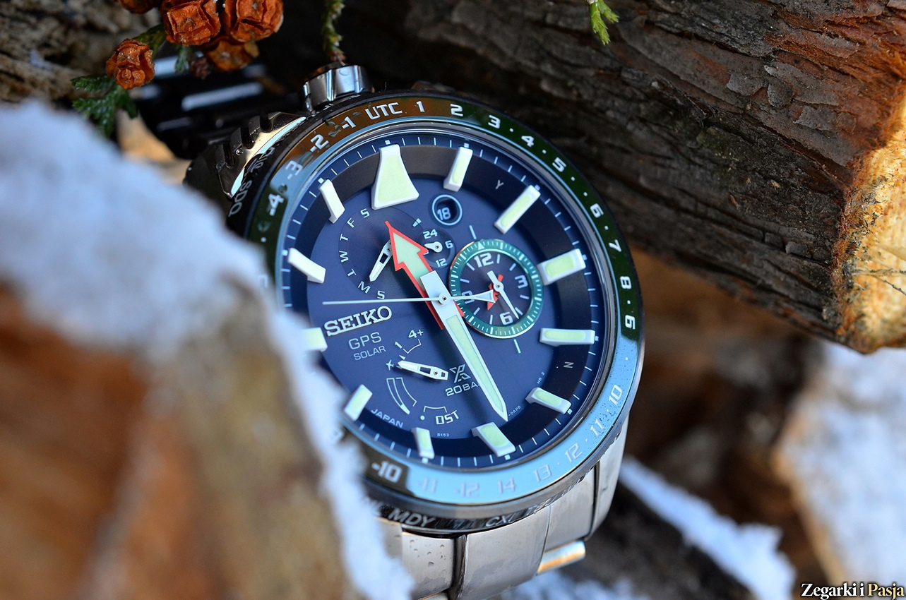 SEIKO Prospex SBED007 Landmaster GPS Solar Dual Time Limited Edition