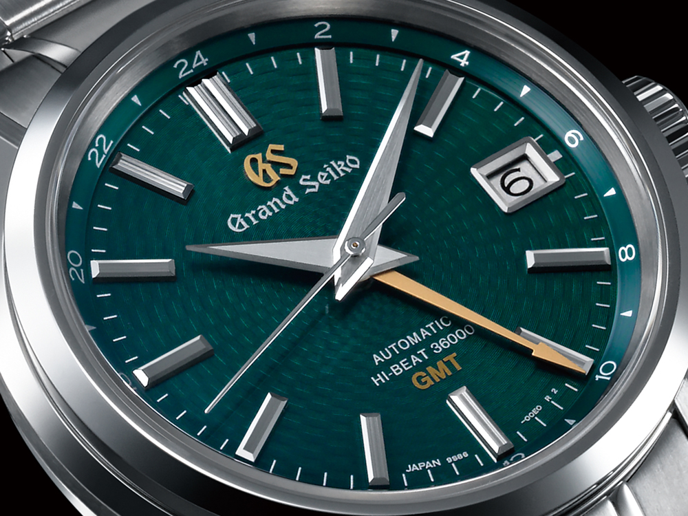 "The Grand Seiko Hi-Beat 36000 GMT Limited Edition ""Peacock"""