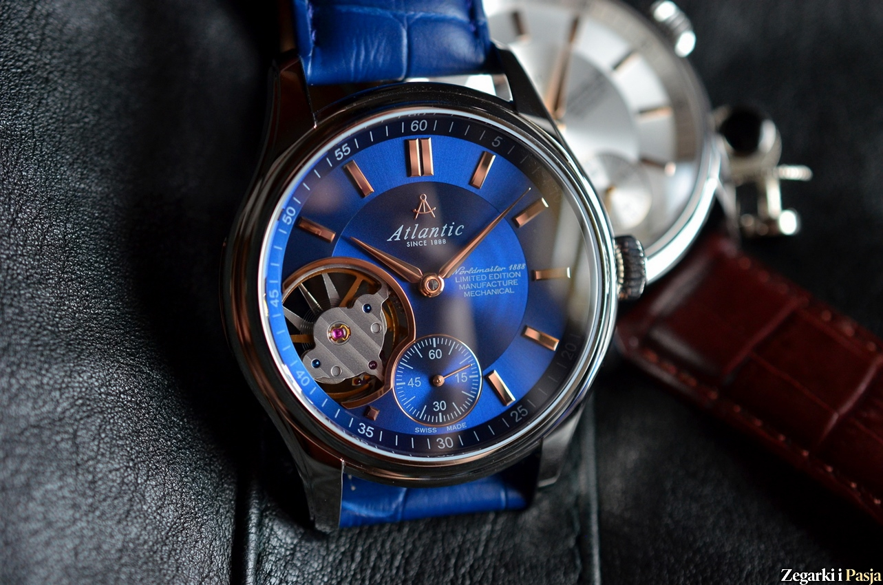 Recenzja: Atlantic Worldmaster 1888 Lusso Manufacture Mechanical Open Heart Limited Edition