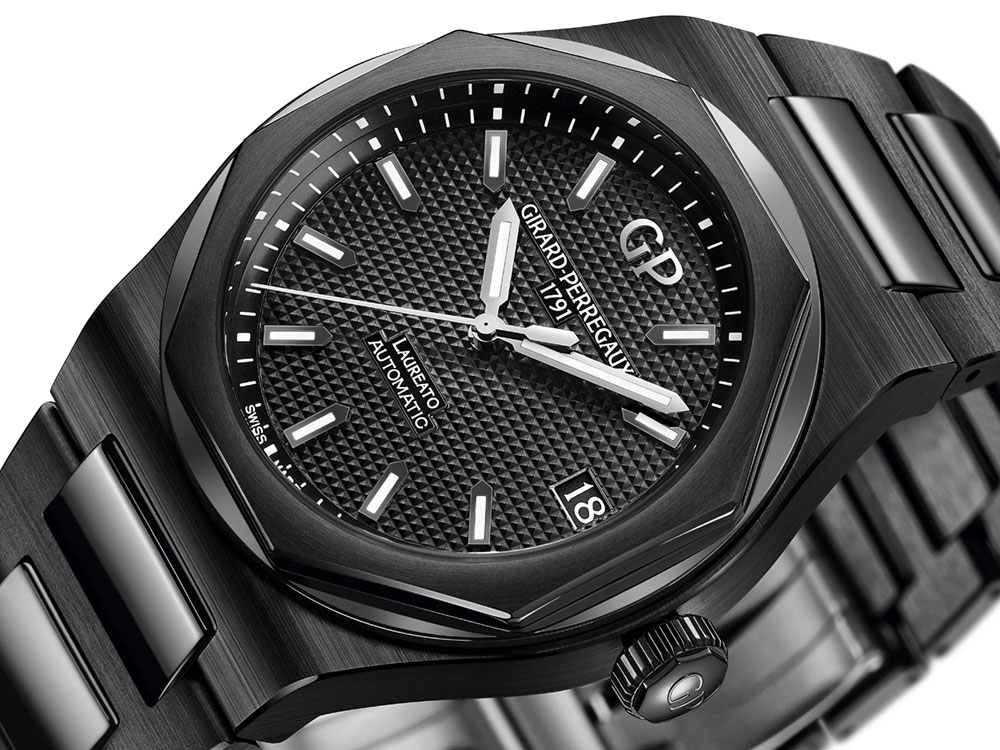Girard Perregaux Laureato 42mm Black Ceramic