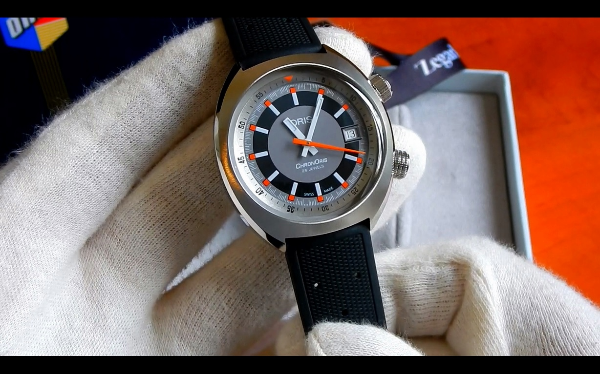 Video recenzja: ORIS ChronOris Date
