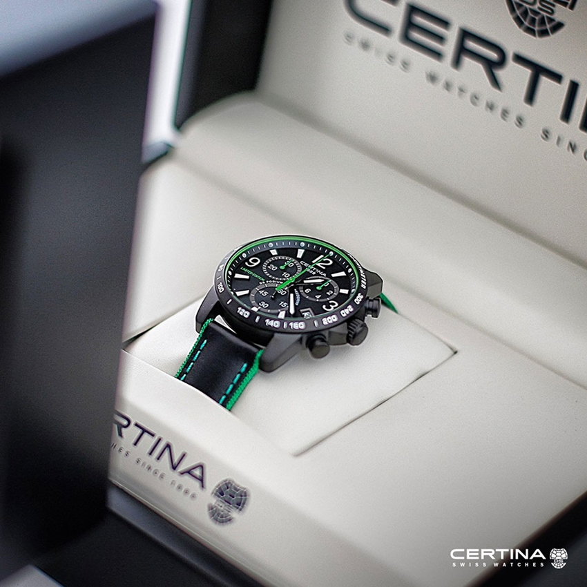 CERTINA - DS Podium Chronograph FIA World Rally Championship (WRC) Limited Edition 2017