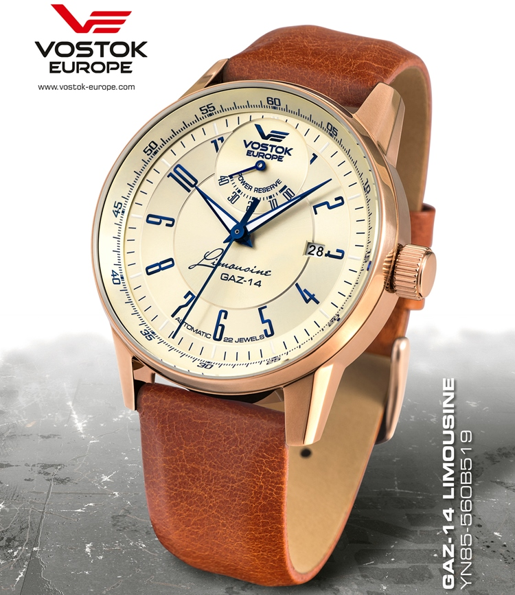 Vostok Europe – Limousine GAZ-14 Automatic Power Reserve