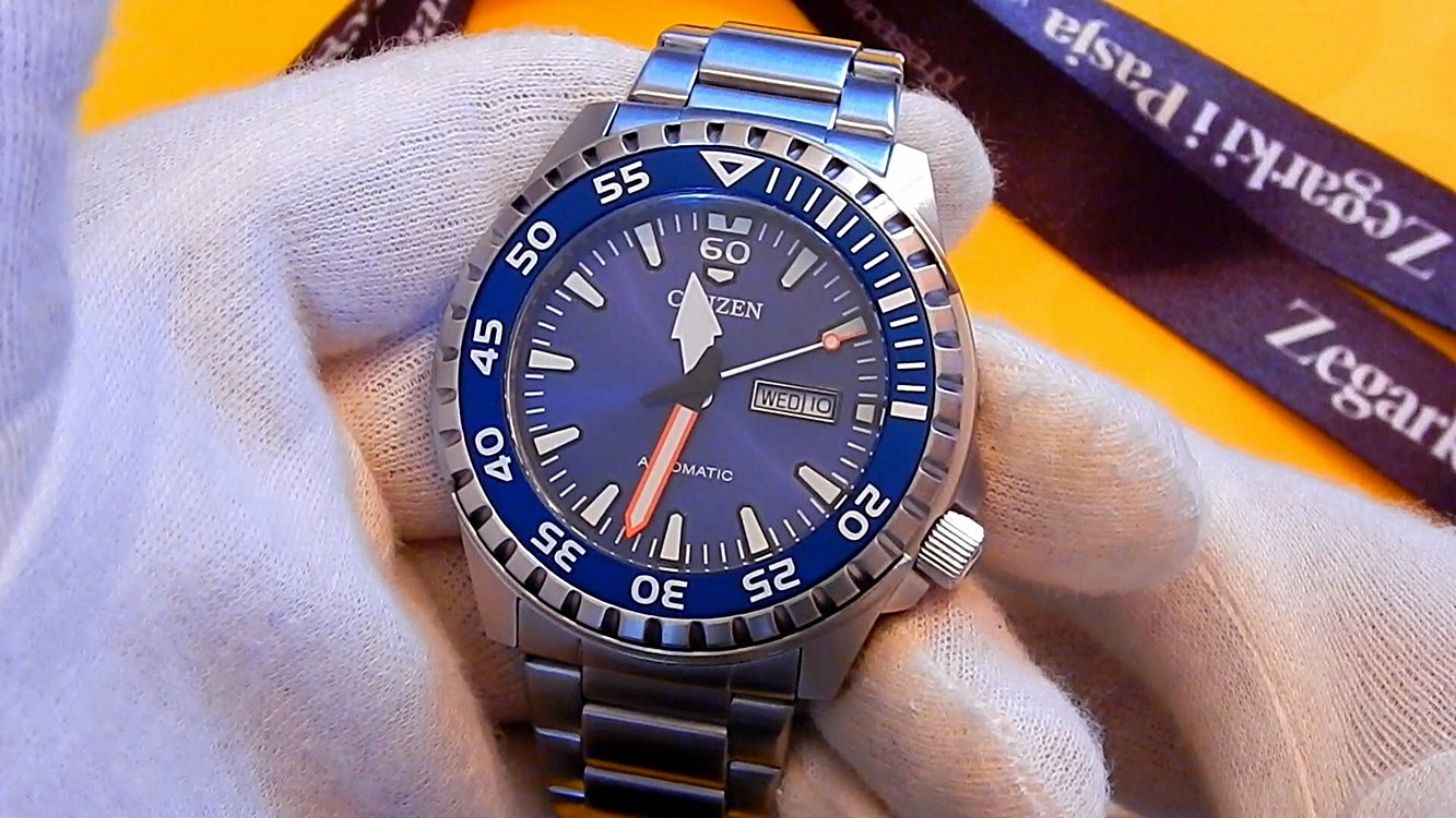 Video recenzja: CITIZEN Mechanical NH8389-88LE
