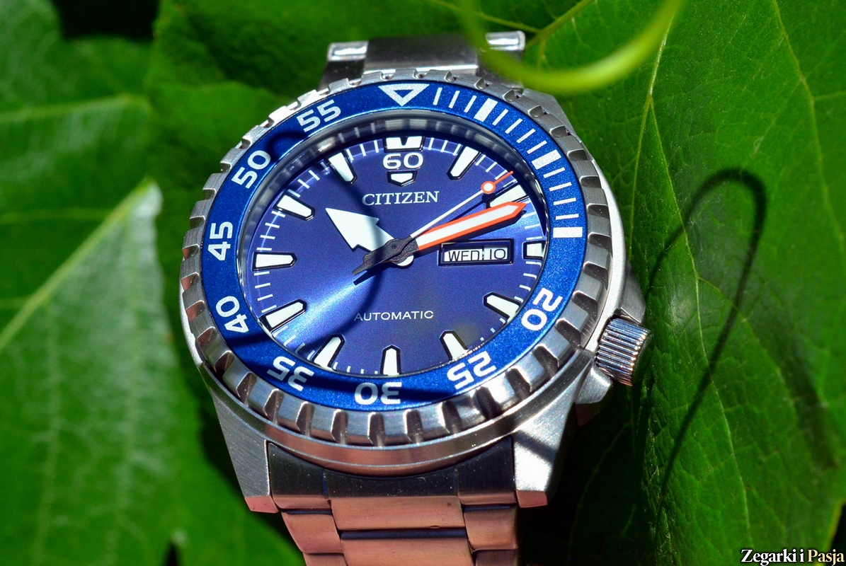 Recenzja: CITIZEN Mechanical NH8389-88LE