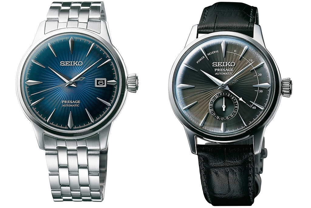 "SEIKO Presage nowe modele ""Cocktail time"" – Manhattan, Martini czy może Margarita?"