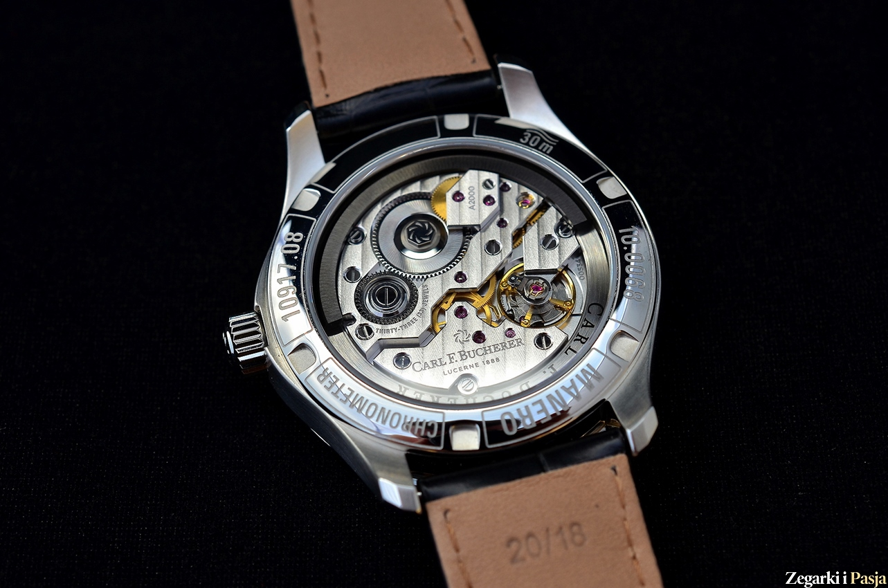 Recenzja: Carl F. Bucherer – Manero Peripheral z mechanizmem in-house CFB A2000