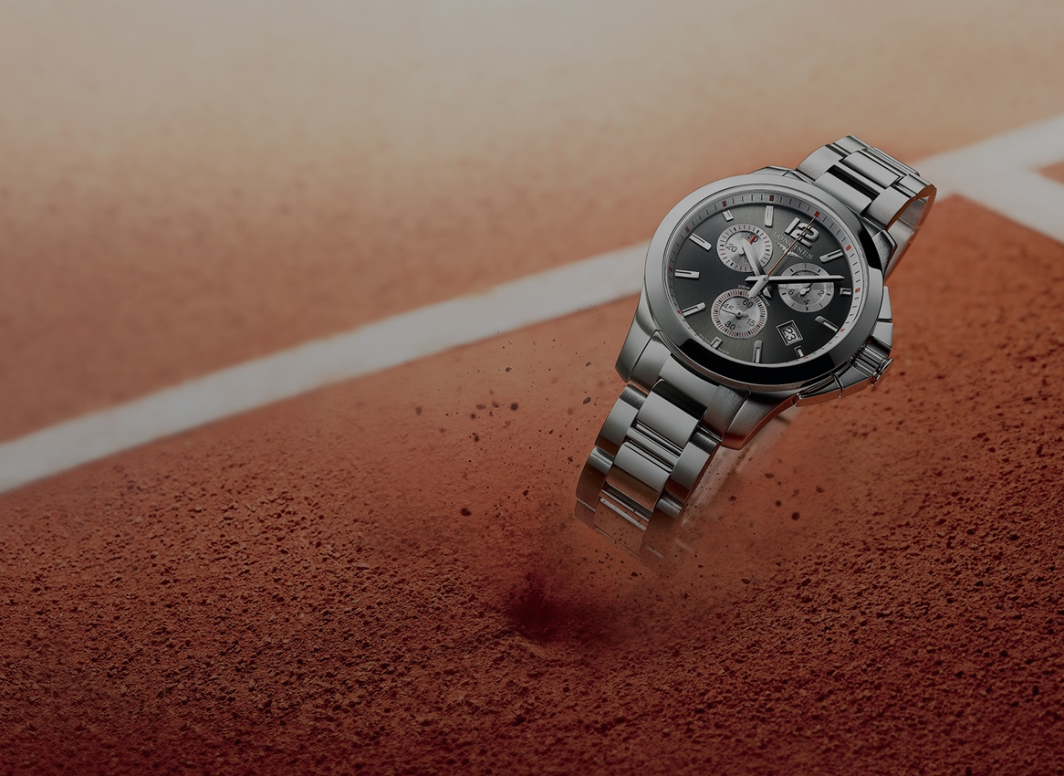 Longines Conquest 1/100th Roland Garros Special Edition