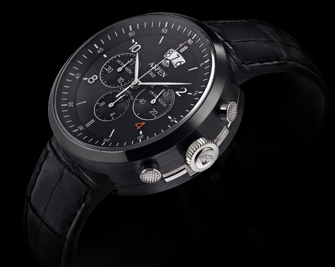ASPEN Jewellery and Watch – kolekcja Aspen One i model Black Piste z kompasem