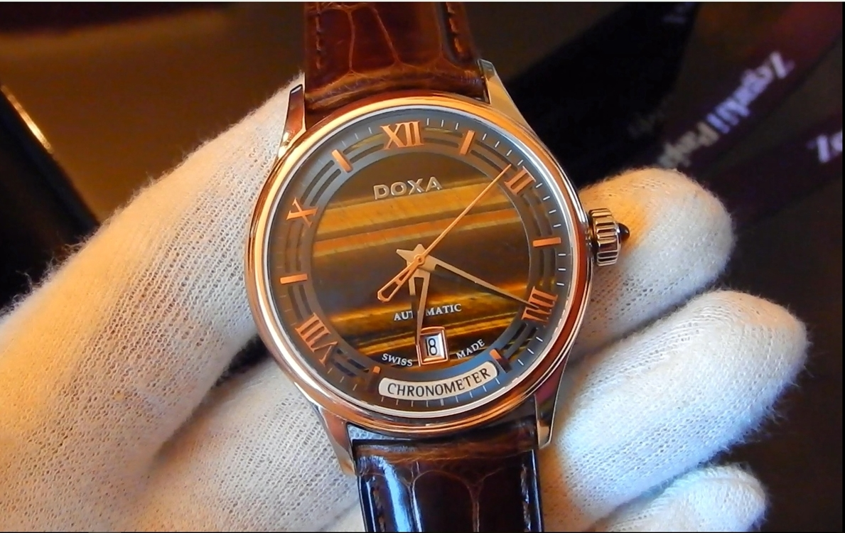 Video recenzja: DOXA GrandeMetre Blue Planet® Chronometer Automatic