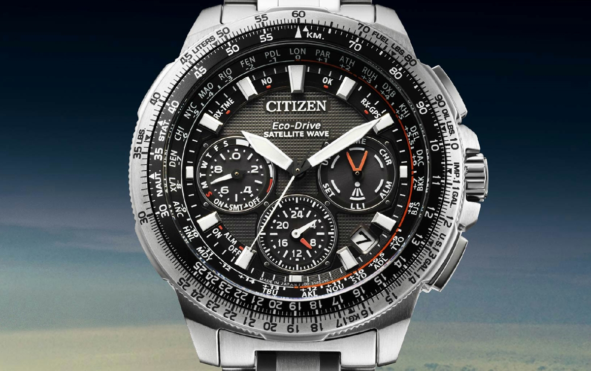 CITIZEN Promaster Satellite Wave GPS