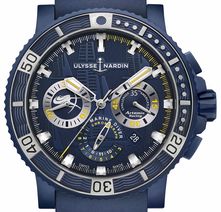 Ulysse Nardin - Diver Black Sea Chronograph Artemis Racing