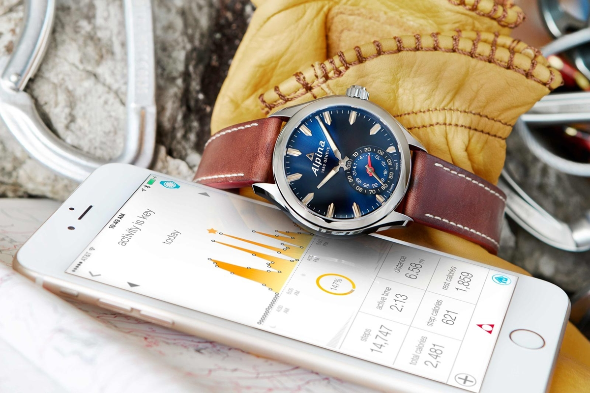 ALPINA - The New Blue Alpina Horological Smartwatch