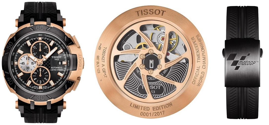 TISSOT T-Race MotoGP Automatic Limited Edition 2017